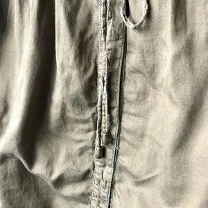 Anthropologie Dresses - ANTHRO HEI HEI Sleeveless Drawstrings Safari Dress